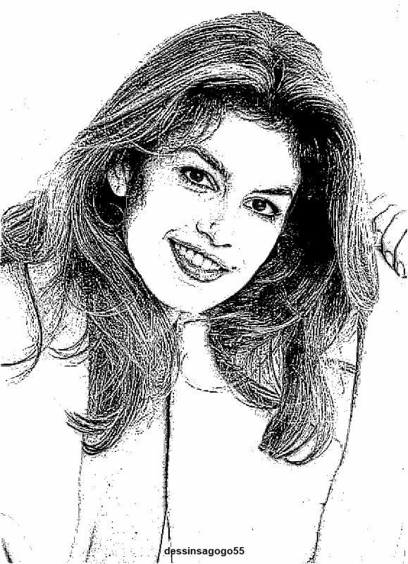 Cindy Crawford : dessinsagogo55