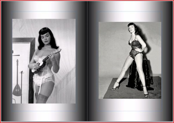 Bettie Page : Montage
