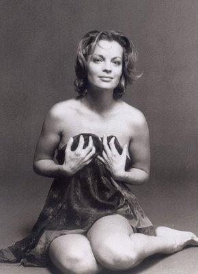 Romy Schneider : Playboy