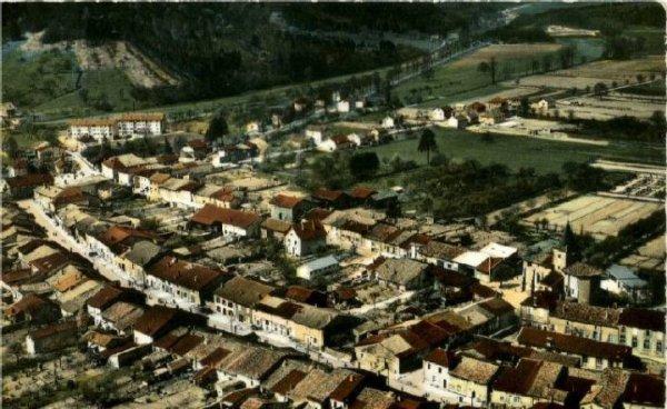 Tronville en Barrois : Vue du ciel