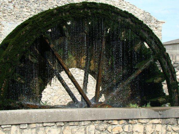Roue moulin