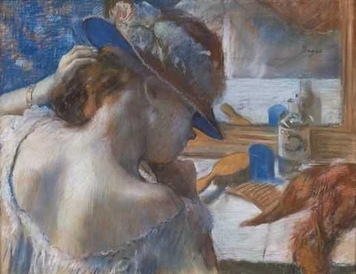 Edgar Degas : Avant la scène