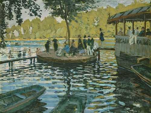 Claude Monet : Baigneurs à la grenouillière