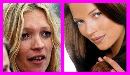 Kate Moss : avec ou sans maquillage ?