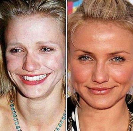 Cameron Diaz : Avec ou sans maquillage ? ? ?