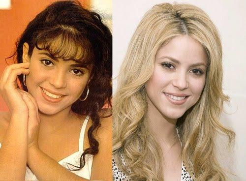 Shakira : l'avant , l'après