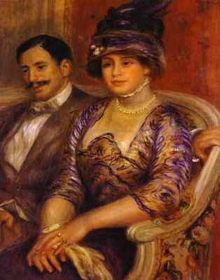 Auguste Renoir : Mr et MMe Bernheim de Villiers