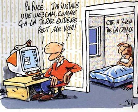 Webcam : Humour
