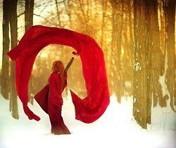 Femme : En pleine nature