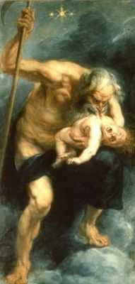 Peter Paul Rubens : Saturne dévorant un de ses enfants