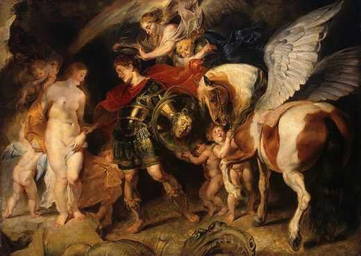 Peter Paul Rubens : Persée délivrant Andromede