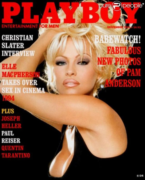 Pamela Anderson : couvertures