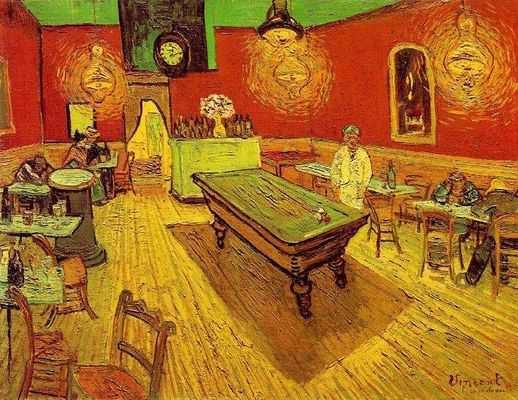 Vincent Van Gogh : Café de nuit