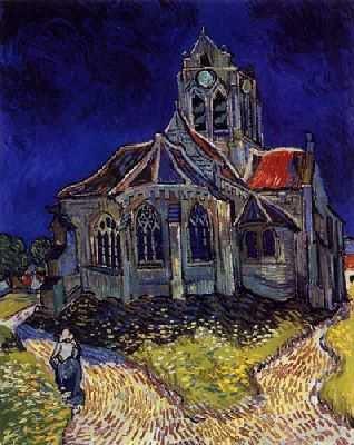 Vincent Van Gogh : Eglise d'Auvers sur Oise