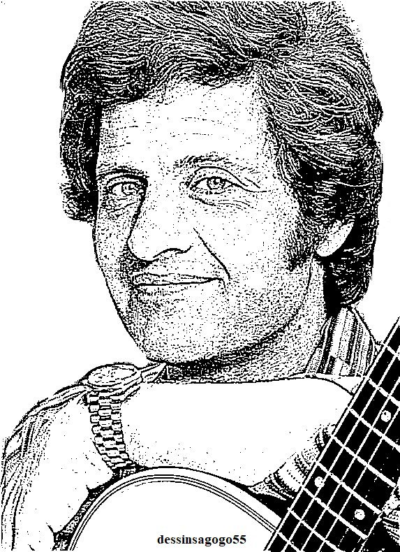 Joe Dassin : dessinsagogo55