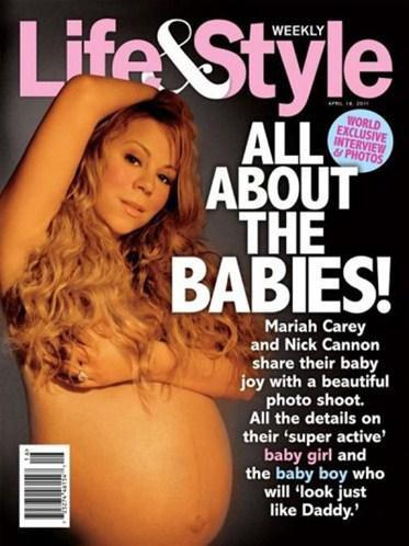 Mariah Carey : A la une