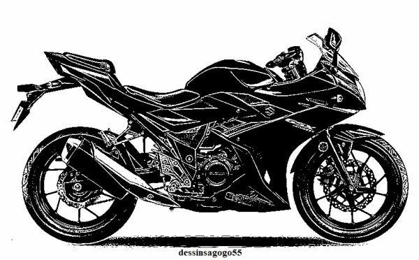 Suzuki GSX-R : dessinsagogo55