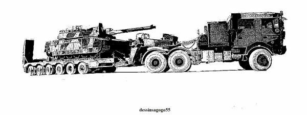 Porte-char : dessinsagogo55