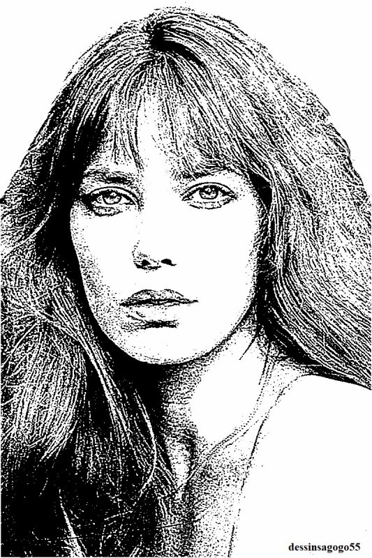 Jane Birkin : dessinsagogo55