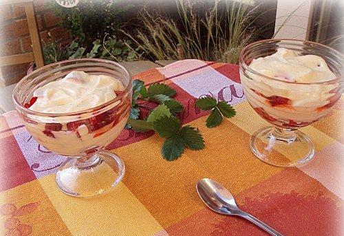 Délice de Plougastel (ou tiramisu aux fraises )
