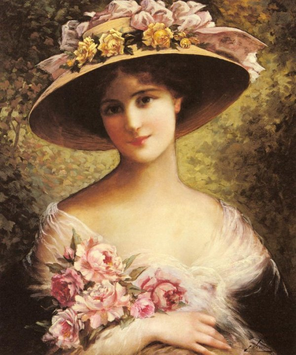 Emile Vernon : The Fancy Bonnet