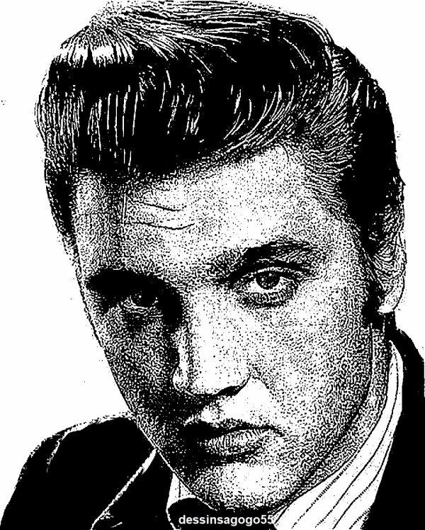 Elvis Presley : dessinsagogo55