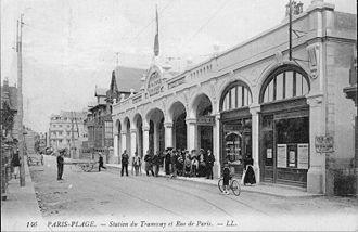 Le tramway d'Étaples à Paris-Plage (1900-1940)
