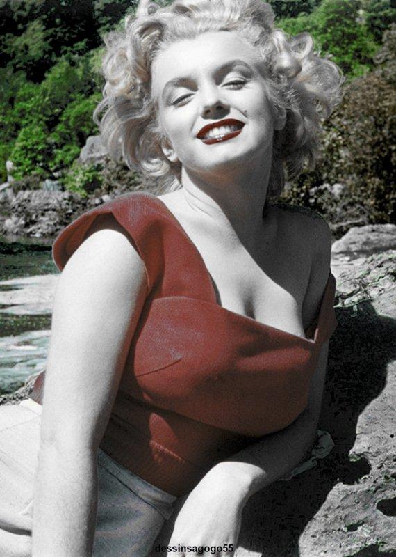 Marilyn Monroe : dessinsagogo55
