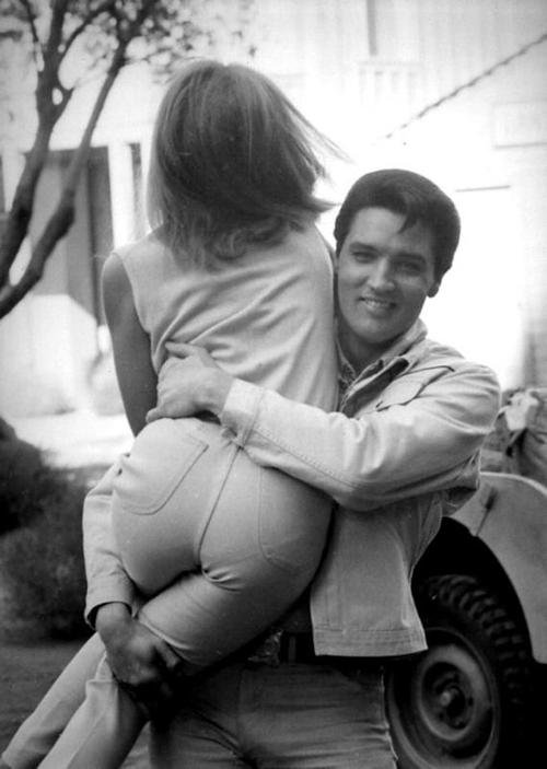 Elvis Presley et Jocelyn Lane pour Tickle Me (1965)