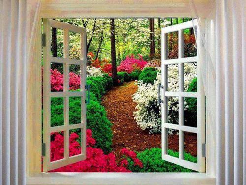 Alphonse Karr : Un jardin ...