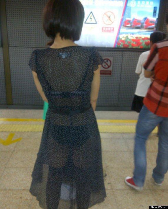 Un monde fou :Le métro de Shanghai publie l'image d'une femme habillée sexy en lui disant qu'elle devrait s'attendre à être agressée