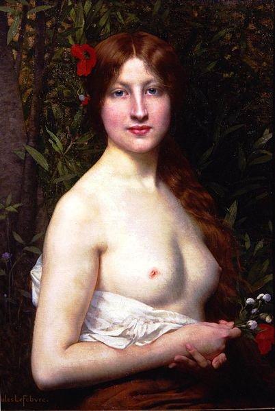 Jules Joseph Lefebvre : Fleurs des Champs