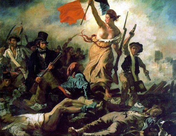 Eugène Delacroix : La Liberté guidant le peuple