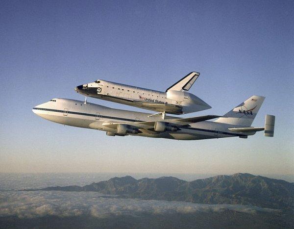 La navette spatiale américaine