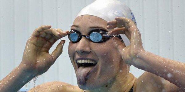 Camille Muffat 200 m nage libre Médaille d'argent