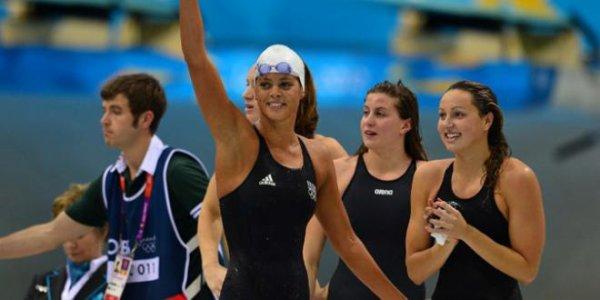 France 4x200 féminin Médaille de bronze