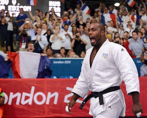 Teddy Riner : médaille d'or au JO de Londres