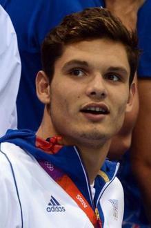"""Florent Manaudou : médaille d'or en natation """" nage libre """" au JO de Londres"""