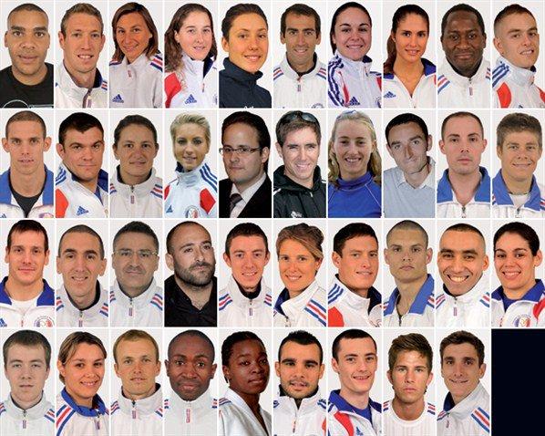 Militaires français aux olympiades