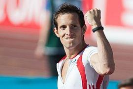 Renaud Lavillenie médaille d'or à perche
