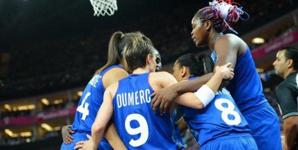 Basket-ball féminin : Médaille d'argent