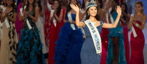 Yu Wenxia : Miss Monde 2012 est chinoise