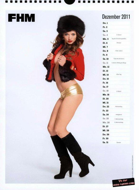 FHM : Calendrier 2011