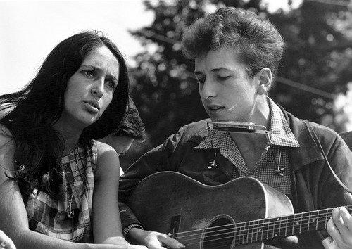 Joan Baez et Bob Dylan : 1963