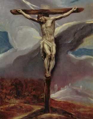 El Greco : Christ sur la croix