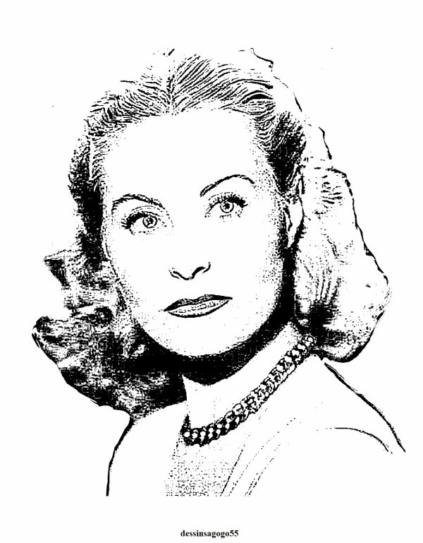 Michèle Morgan : dessinsagogo55
