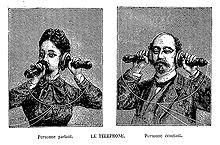 Téléphone : Conversation téléphonique