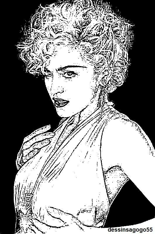 Madonna : dessinsagogo55