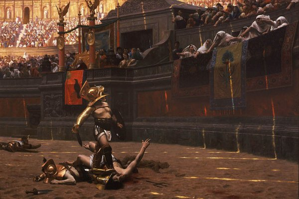 Gladiator : Scénario