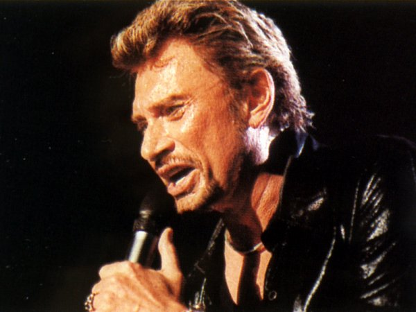Johnny Hallyday : Vogue et le chanteur